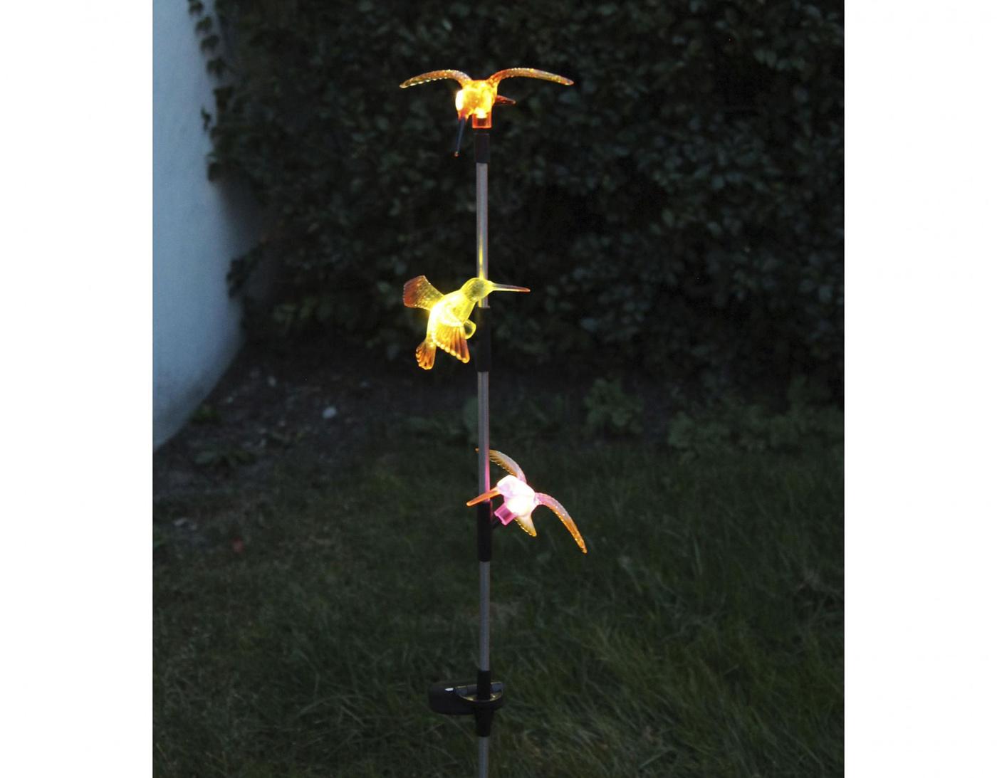 Solární lampa Hummingbirds