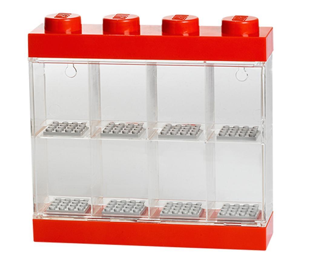 Cutie pentru 8 minifigurine Lego Few Red