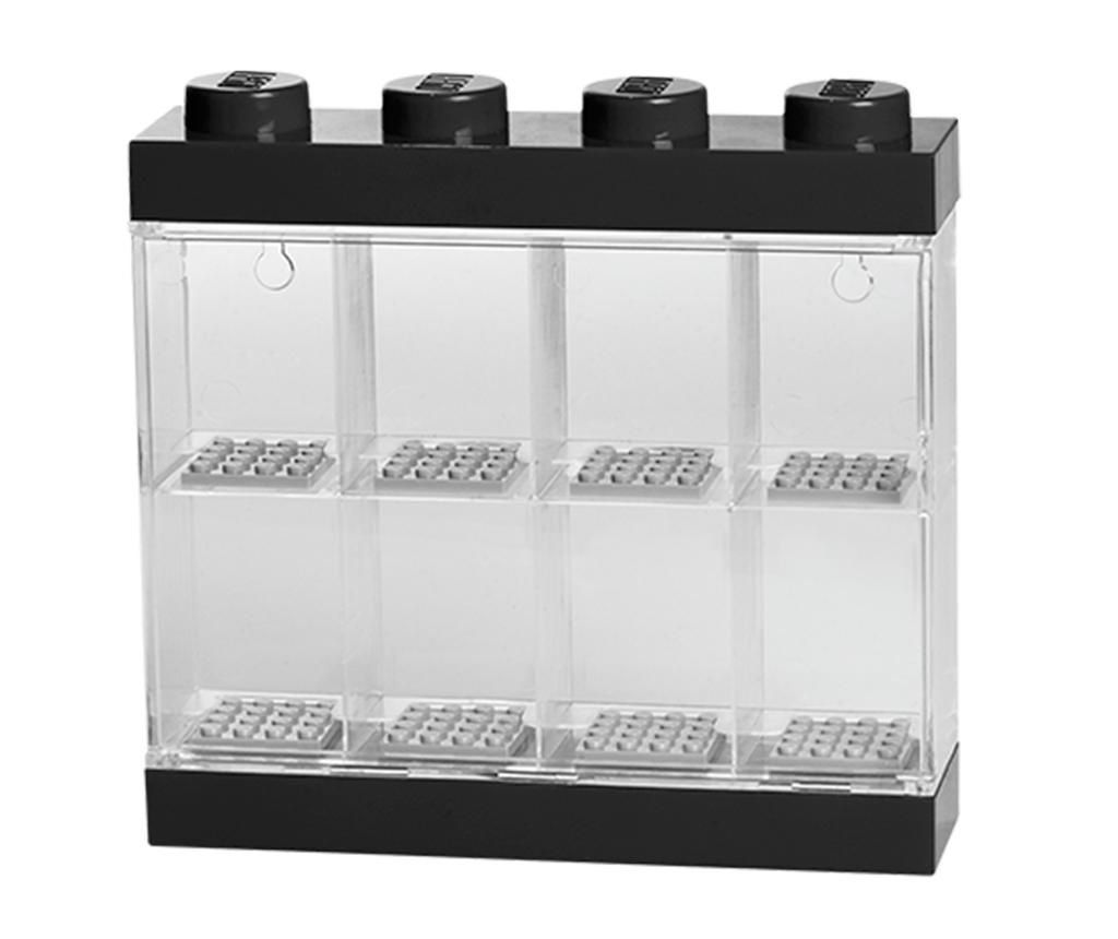 Škatla za 8 mini figuric Lego Few Black