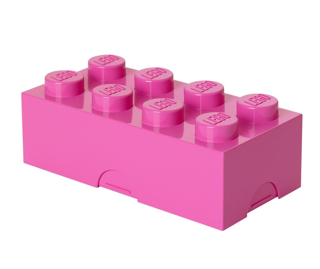 Lego Bright Pink Uzsonnás doboz