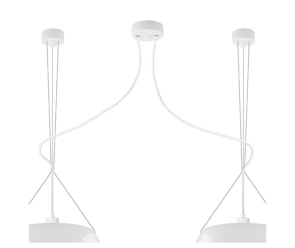 Lustra Momo Double Glossy White