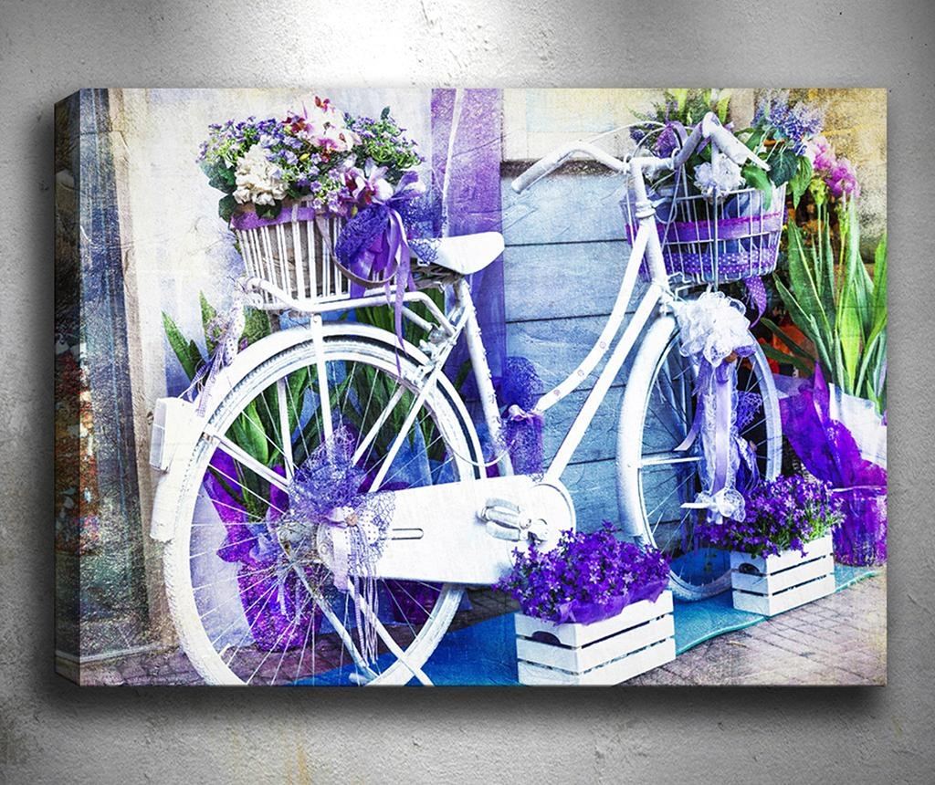 Tablou 3D Pretty Biclycle 40x60 cm