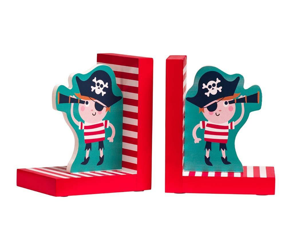 Σετ 2 βιβλιοστάτες Pirate on the Sea