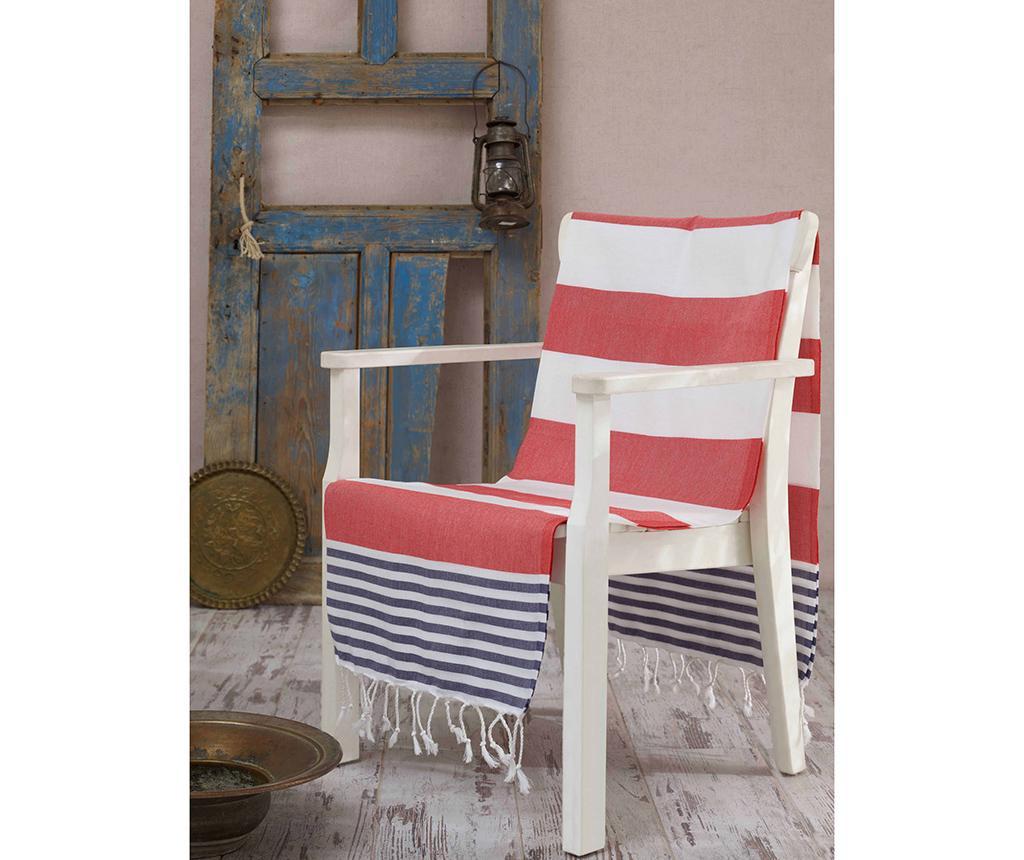 Prosop de plaja Fouta Antalya Red 100x180 cm