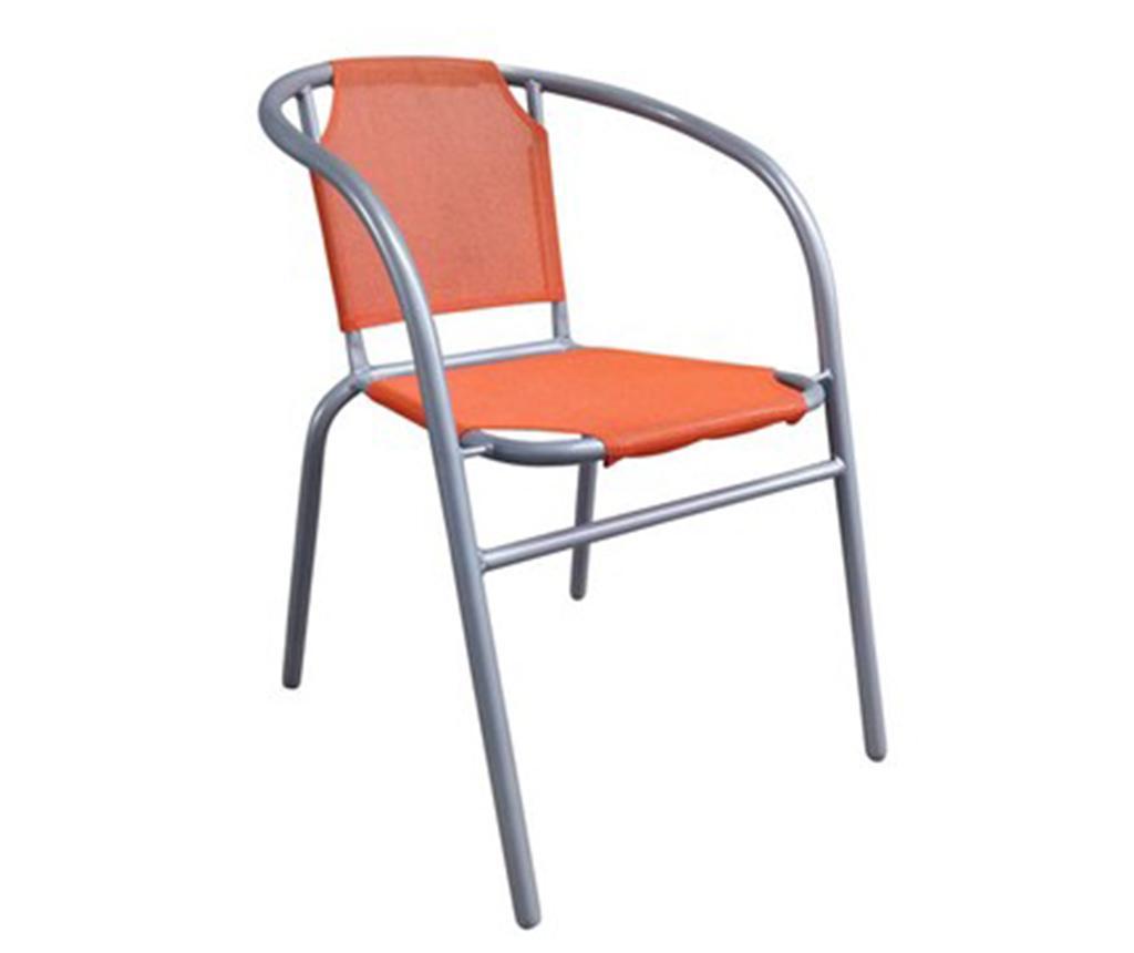 Krzesło ogrodowe Patrick Orange