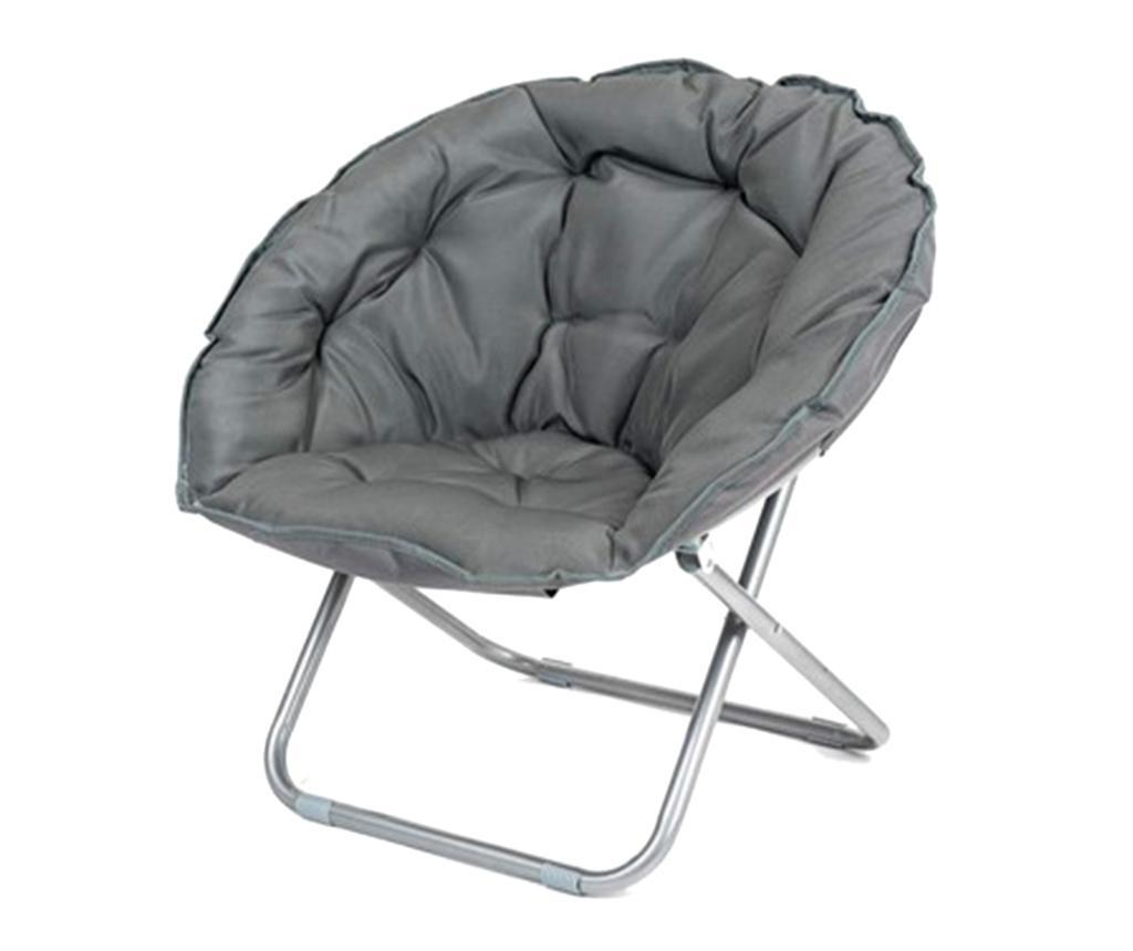 Anzio Anthracite Összecsukható kültéri szék