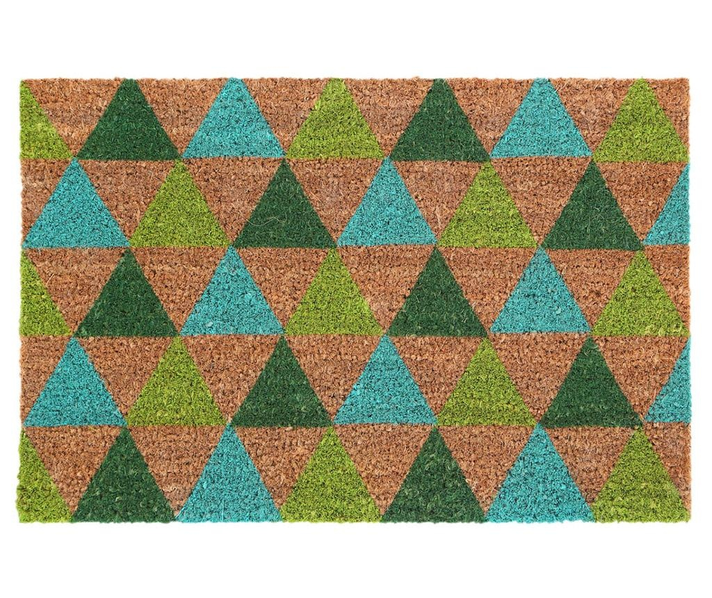Diamonds Green Bejárati Szőnyeg 40x60 cm