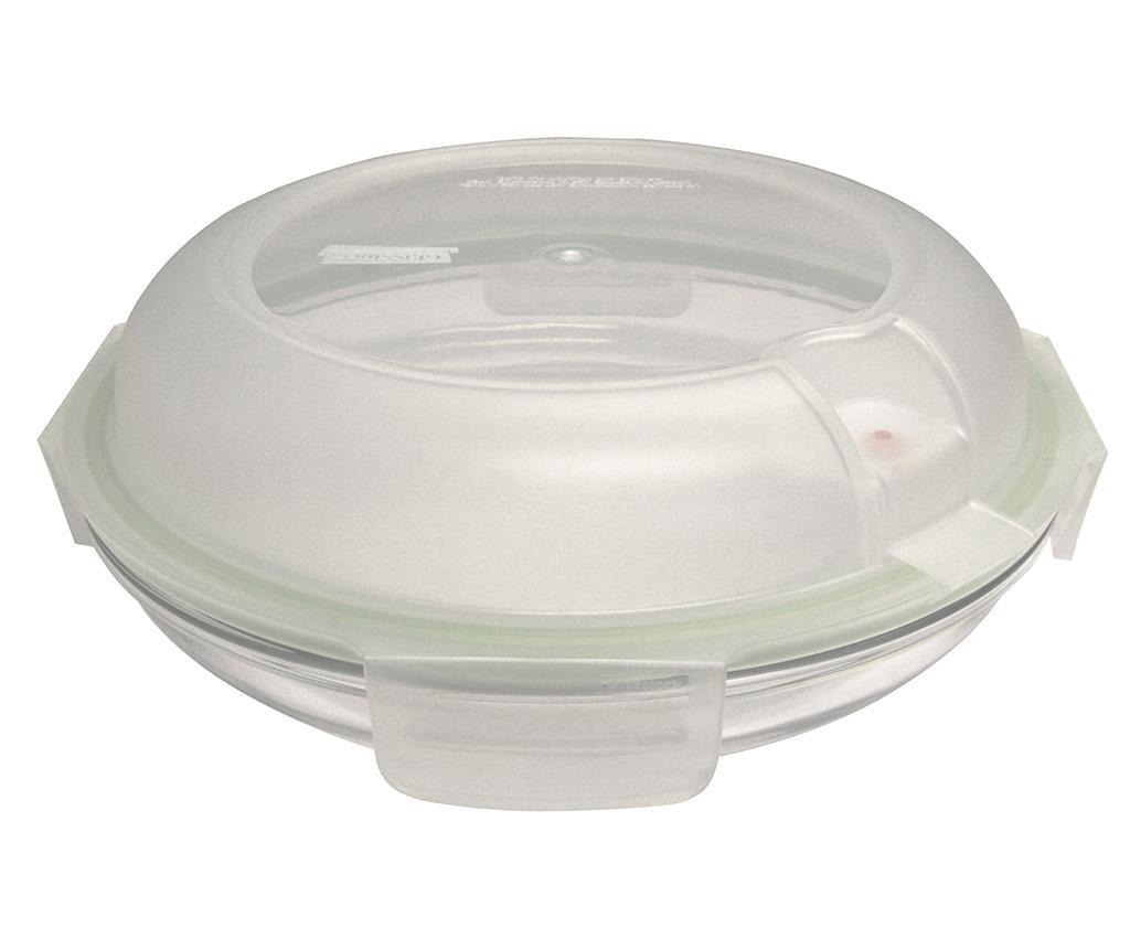 Zdjela s   hermetičkim poklopcem Air Round Raise Green 800 ml