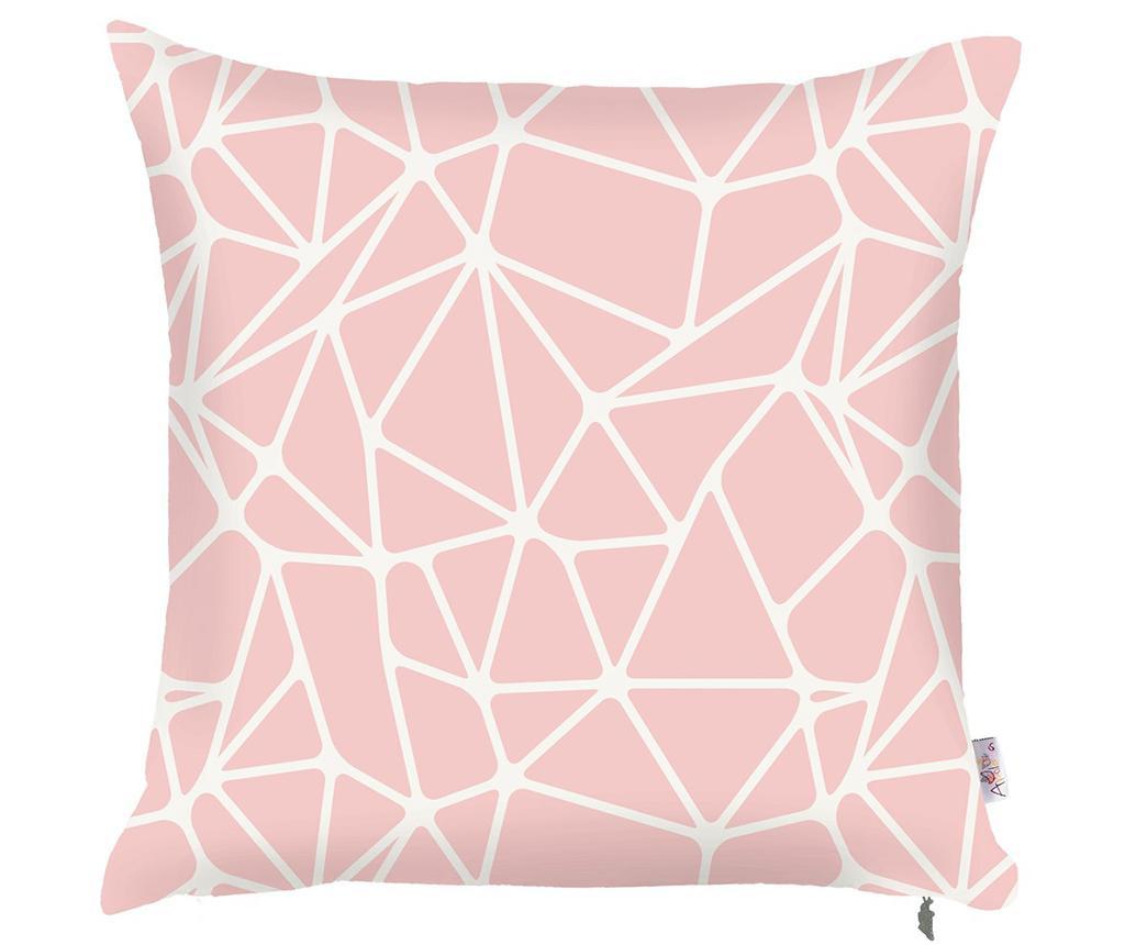 Fata de perna Serena Pink 43x43 cm