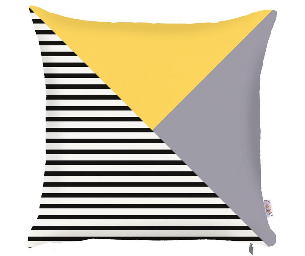 Prevleka za blazino Lara Yellow 43x43 cm
