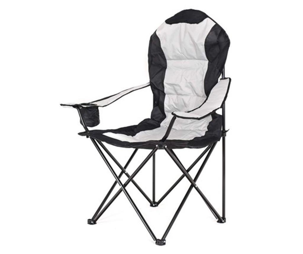 Składane krzesło ogrodowe Korfu Grey