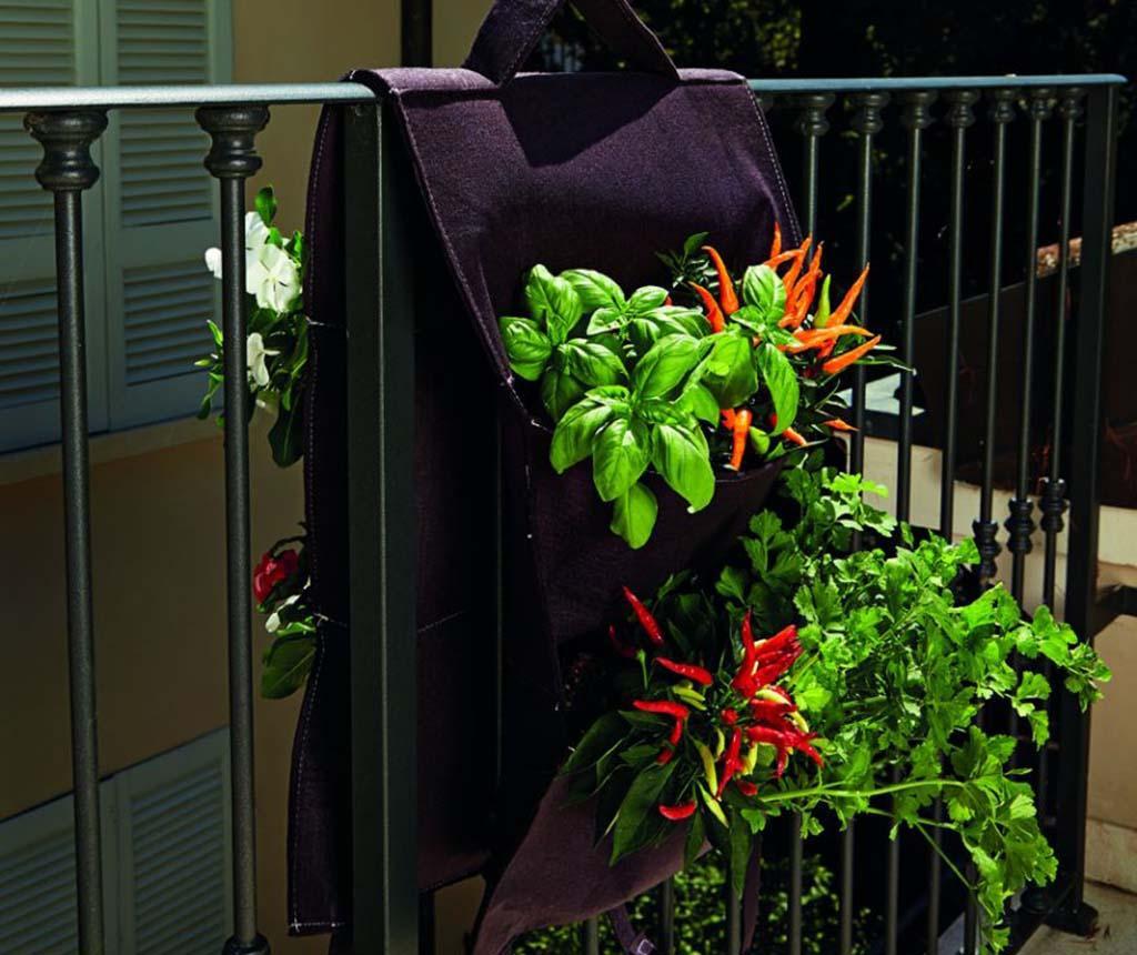 Orto Brown Virágtartó korlátra