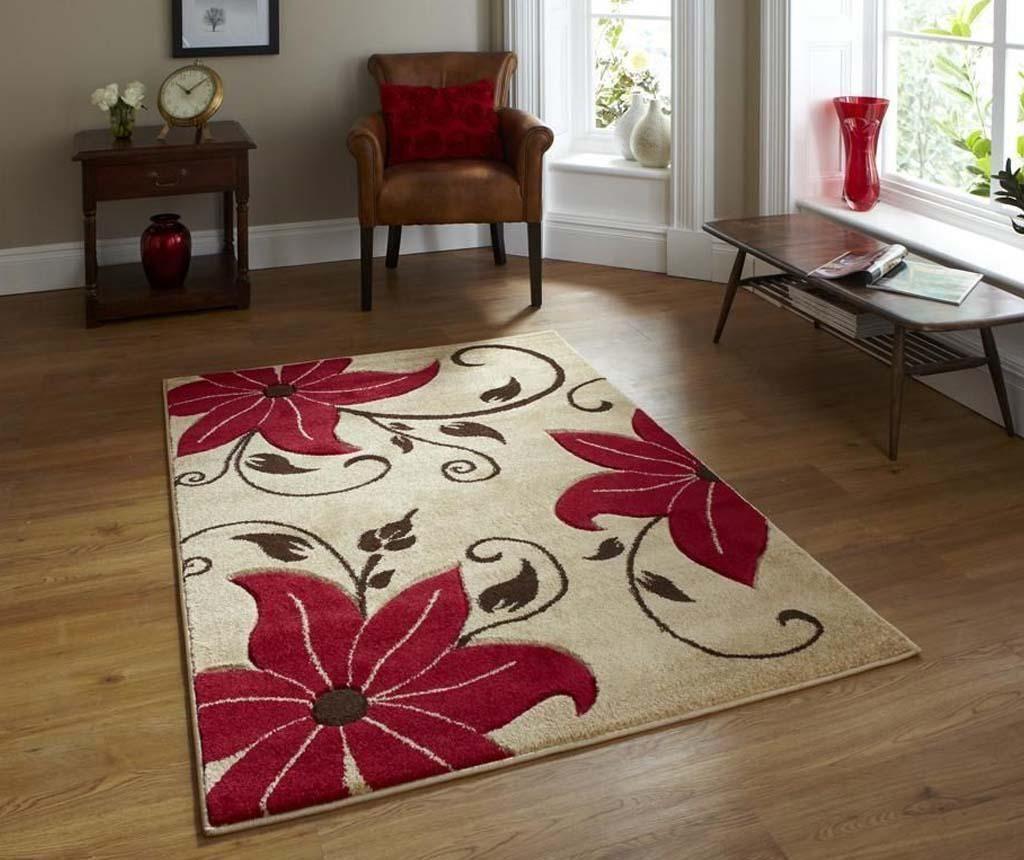 Covor Verona Beige Red 80x150 cm