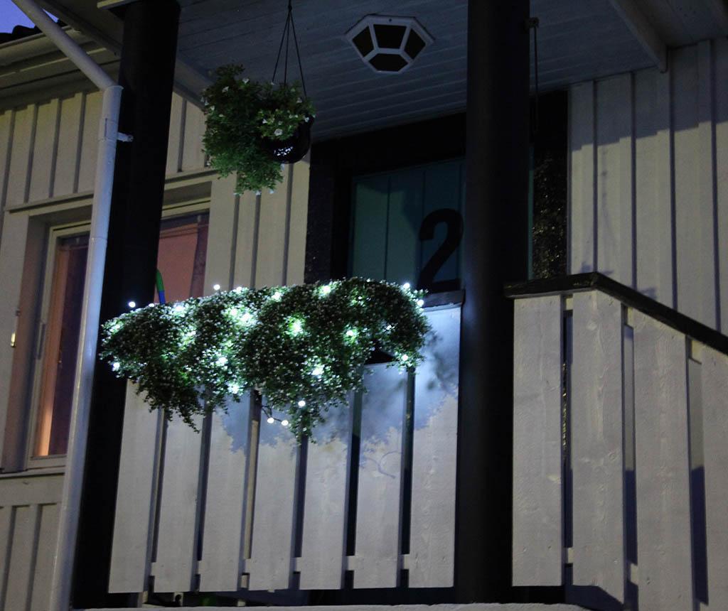 Ghirlanda luminoasa pentru exterior White Bulbs