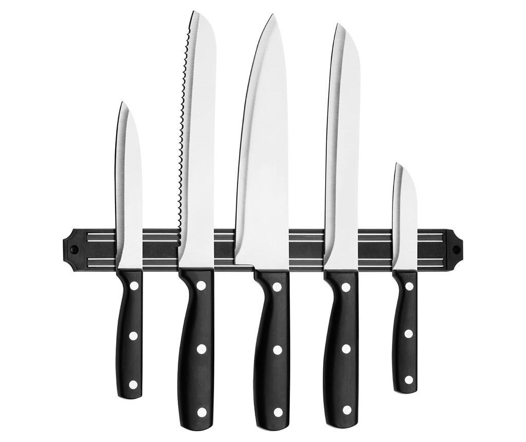 Chef 5 db Kés és mágneses tartó