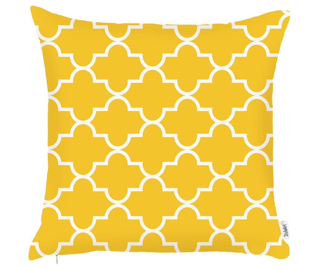 Prevleka za blazino Amina Yellow 43x43 cm