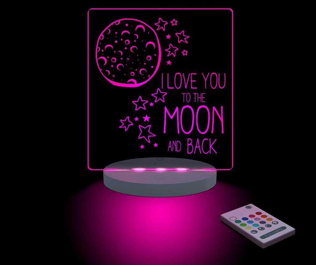 Noćna svjetiljka Moon & Back
