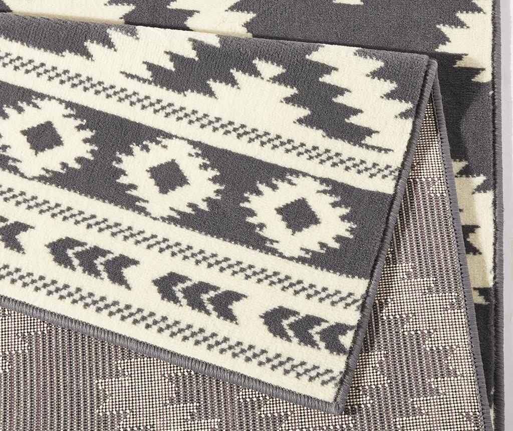 Tepih Ethno Grey and Cream 120x170 cm