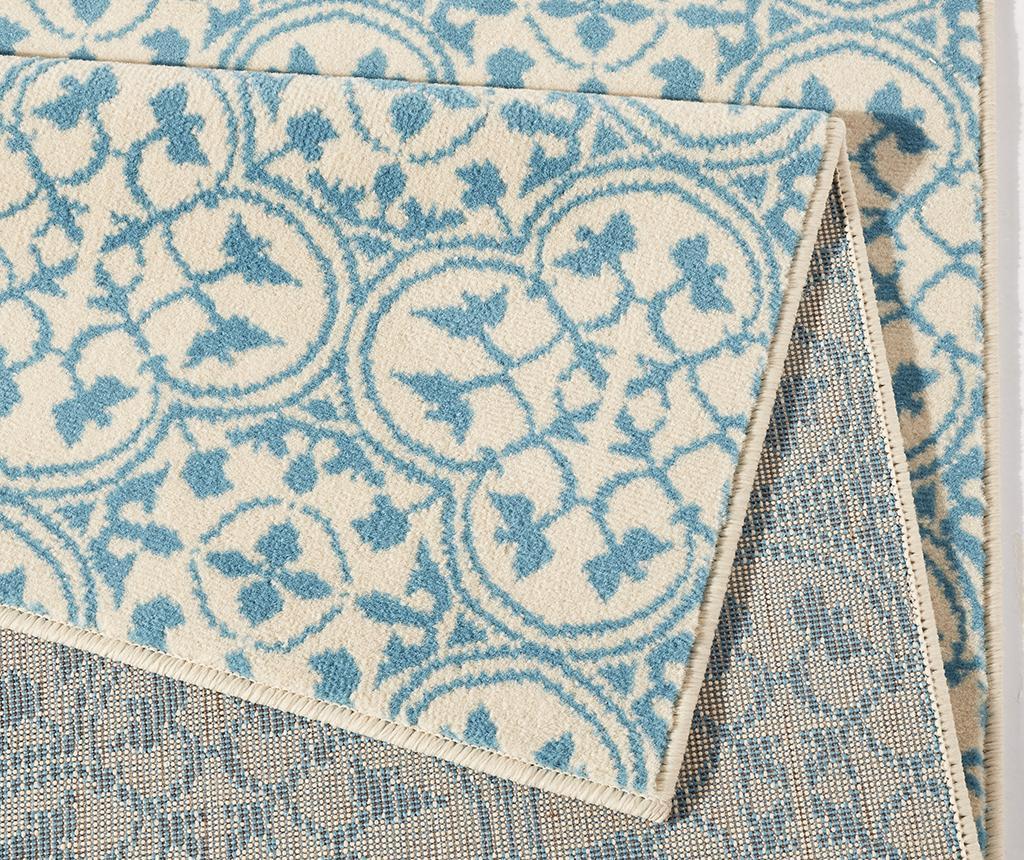 Tepih Pattern Blue and Cream 120x170 cm