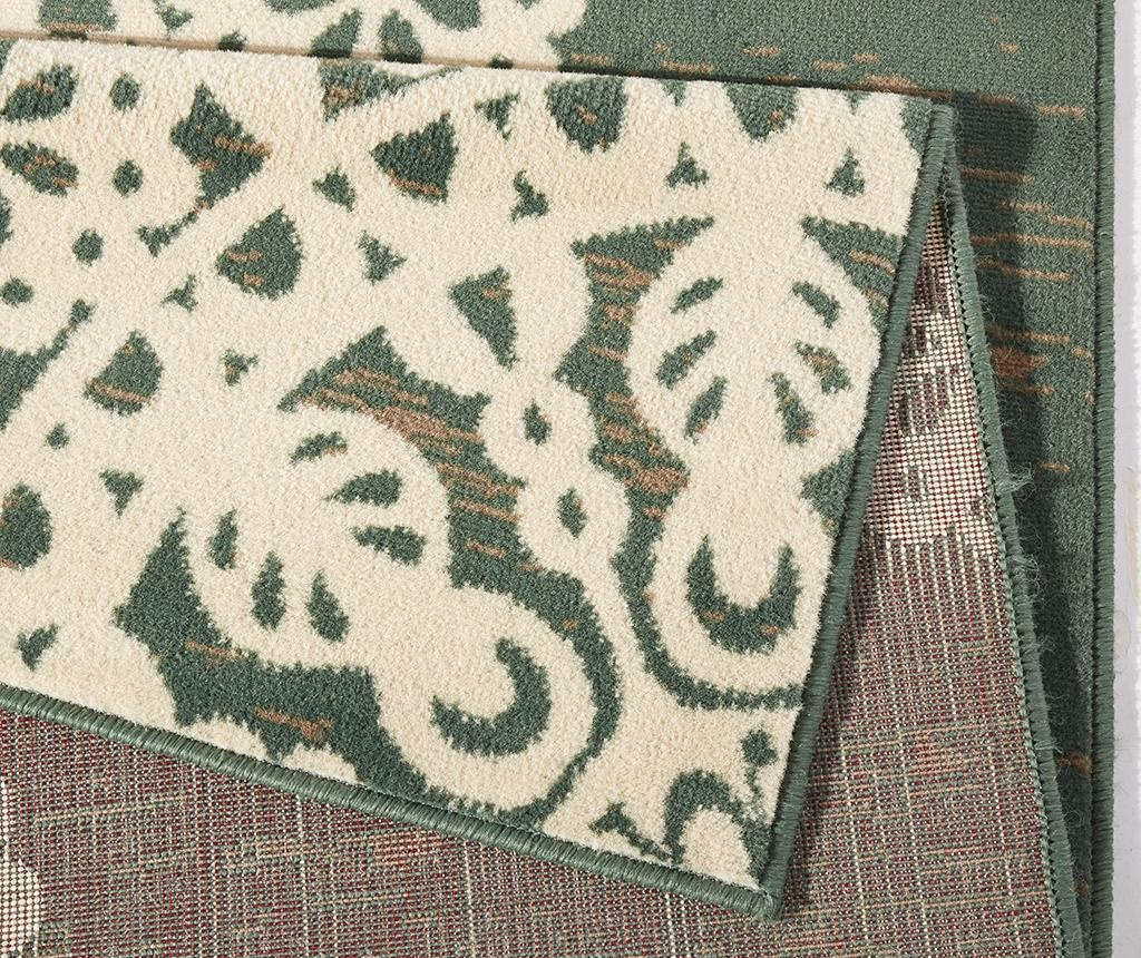 Covor Lace Green and Cream 80x150 cm