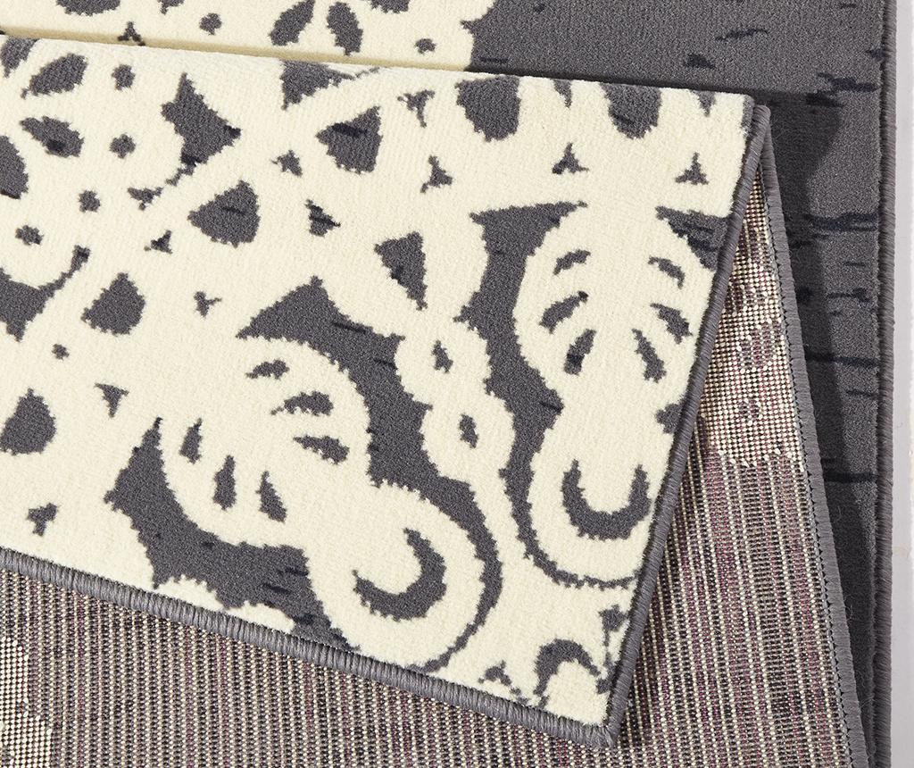 Preproga Lace Grey and Cream 80x150 cm