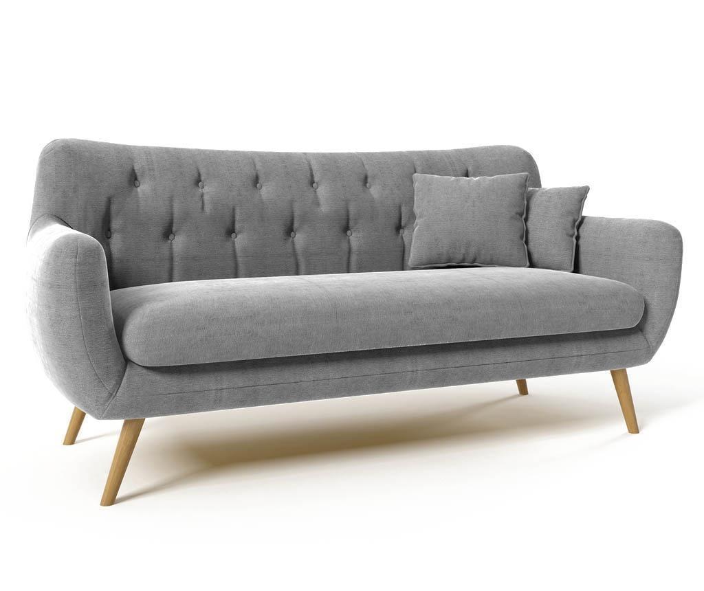Canapea 3 locuri Renne Grey