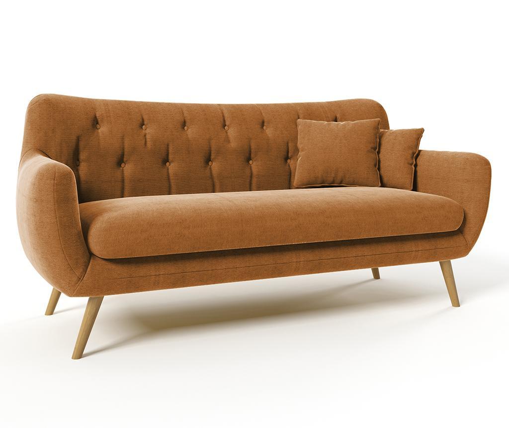 Canapea 3 locuri Renne Ibiza Brown