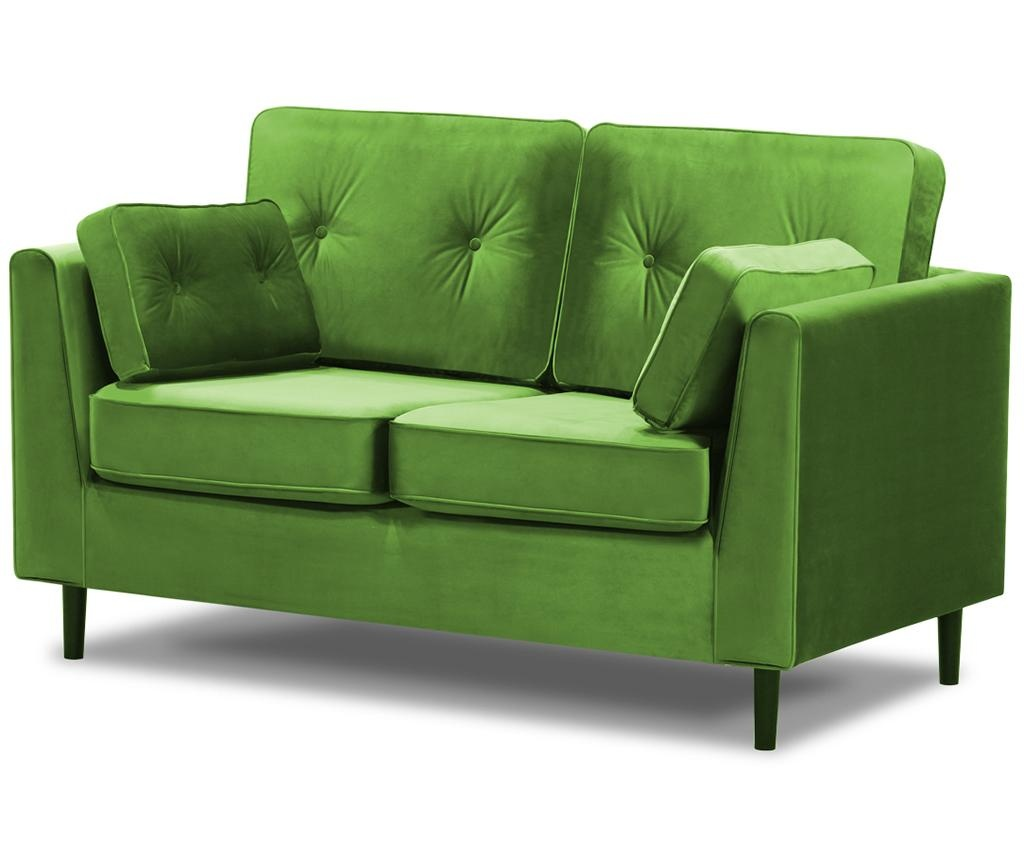 Canapea 2 locuri Marigold Green