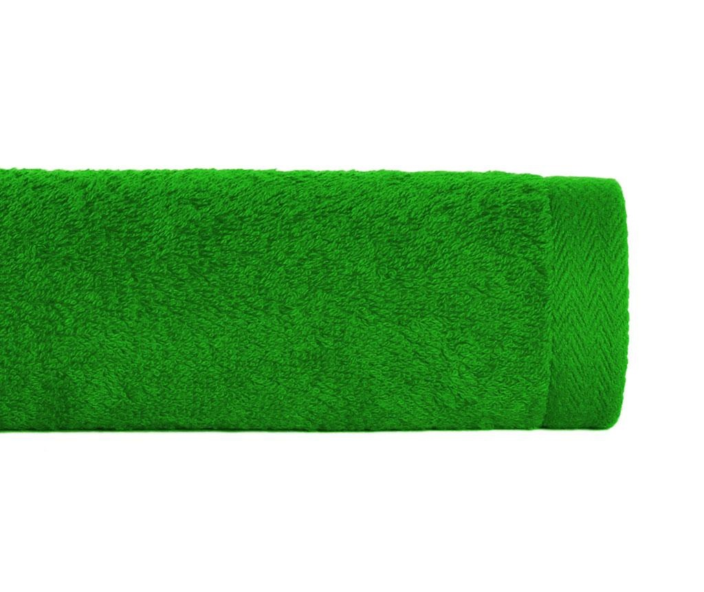 Prosop de baie Alfa Apple Green 50x100 cm