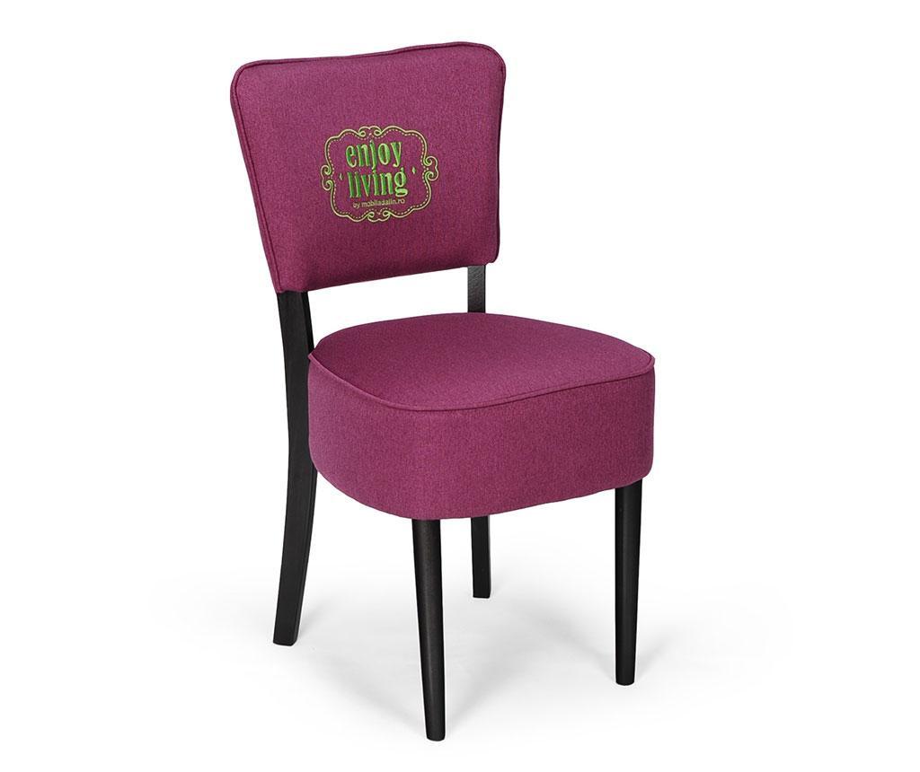 Stolica Nisa Purple Braided Classic