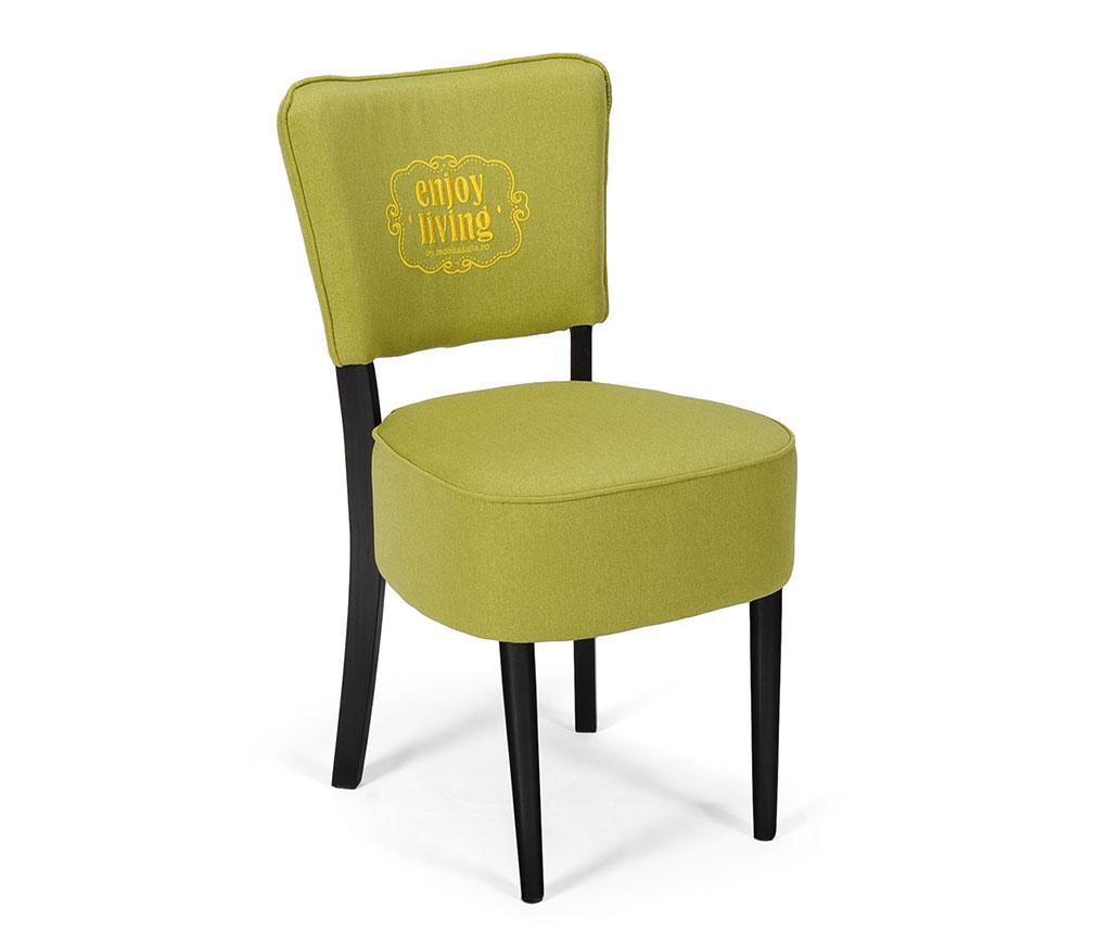 Καρέκλα Nisa Lime Braided Classic