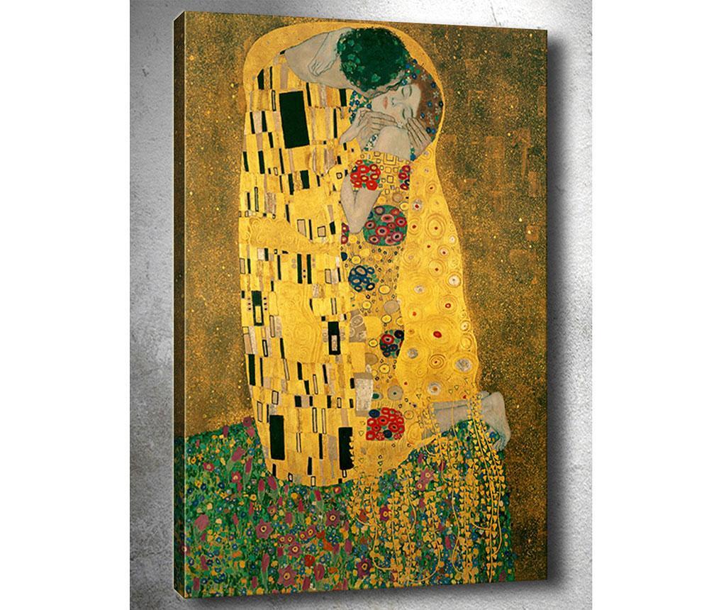 Obraz Klimt Kiss 50x70 cm
