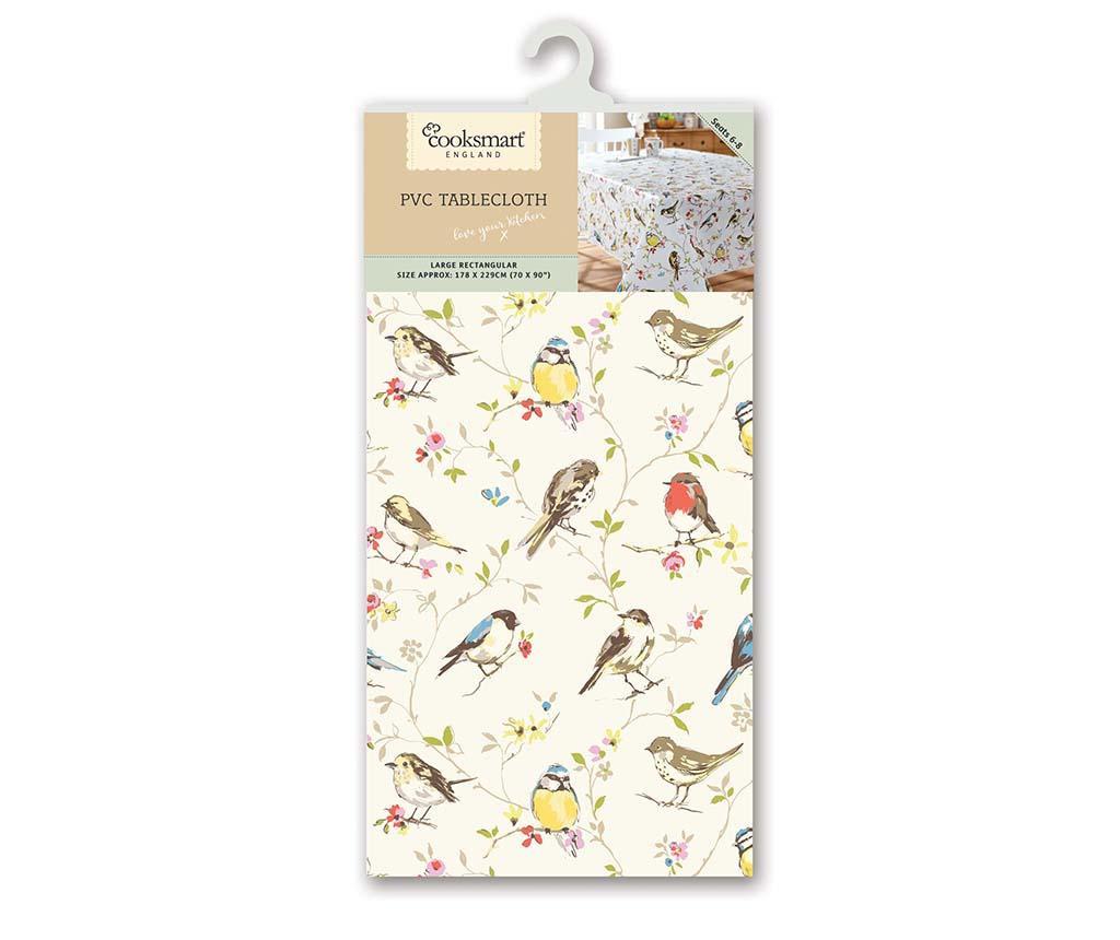 Cute Birds Vízhatlan asztalterítő 178x229 cm