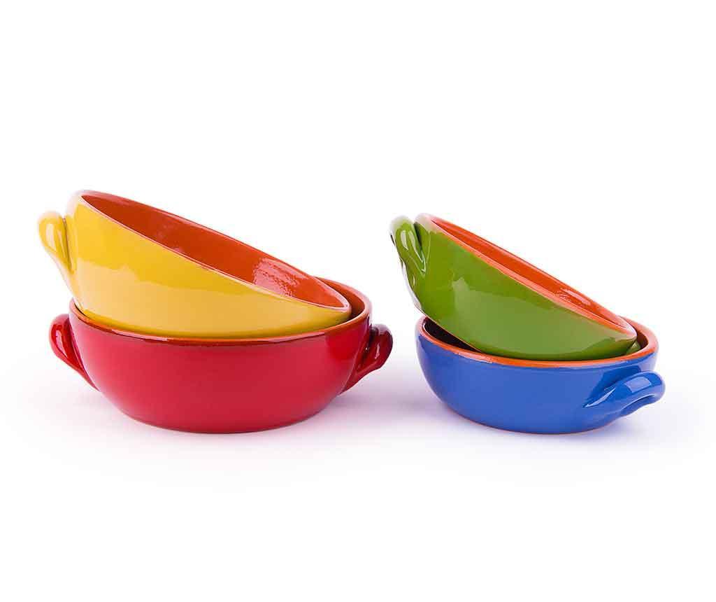 Bria Multicolor 4 db Sütőedény