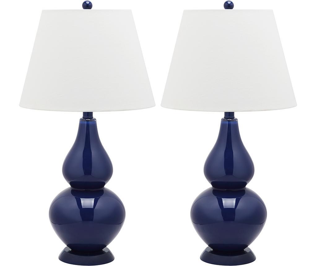 Sada 2 lamp Hattie Navy