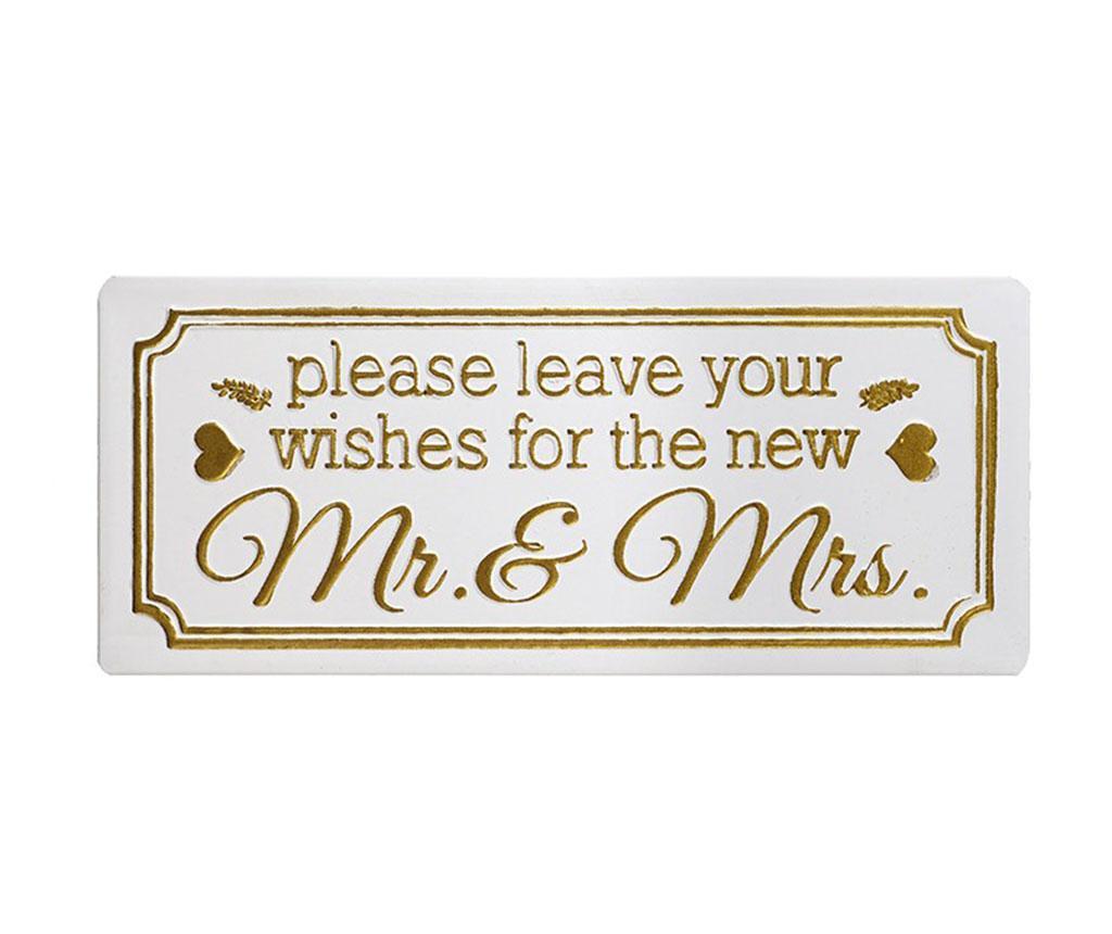 Nástěnná dekorace Leave Your Wishes