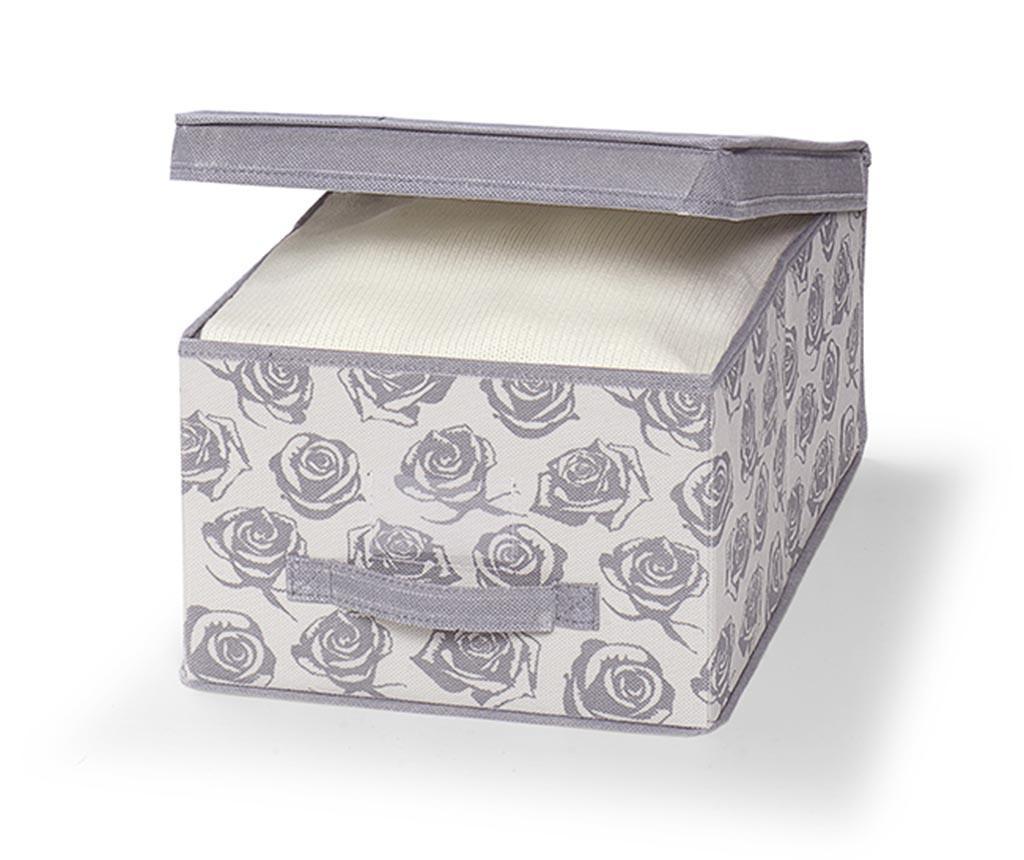 Cutie cu capac pentru depozitare Roses S