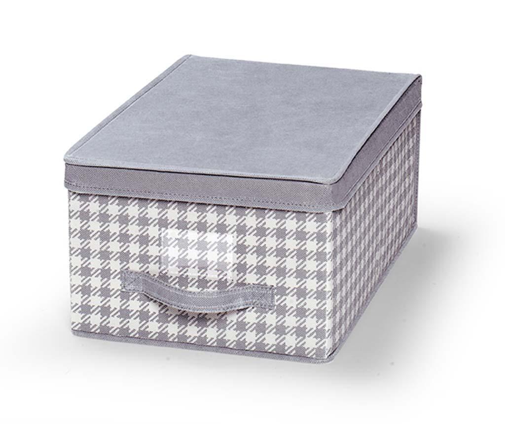 Kutija za pohranu sa poklopcem Check S