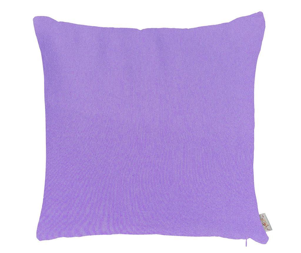 Fata de perna Thoughts Purple 41x41 cm