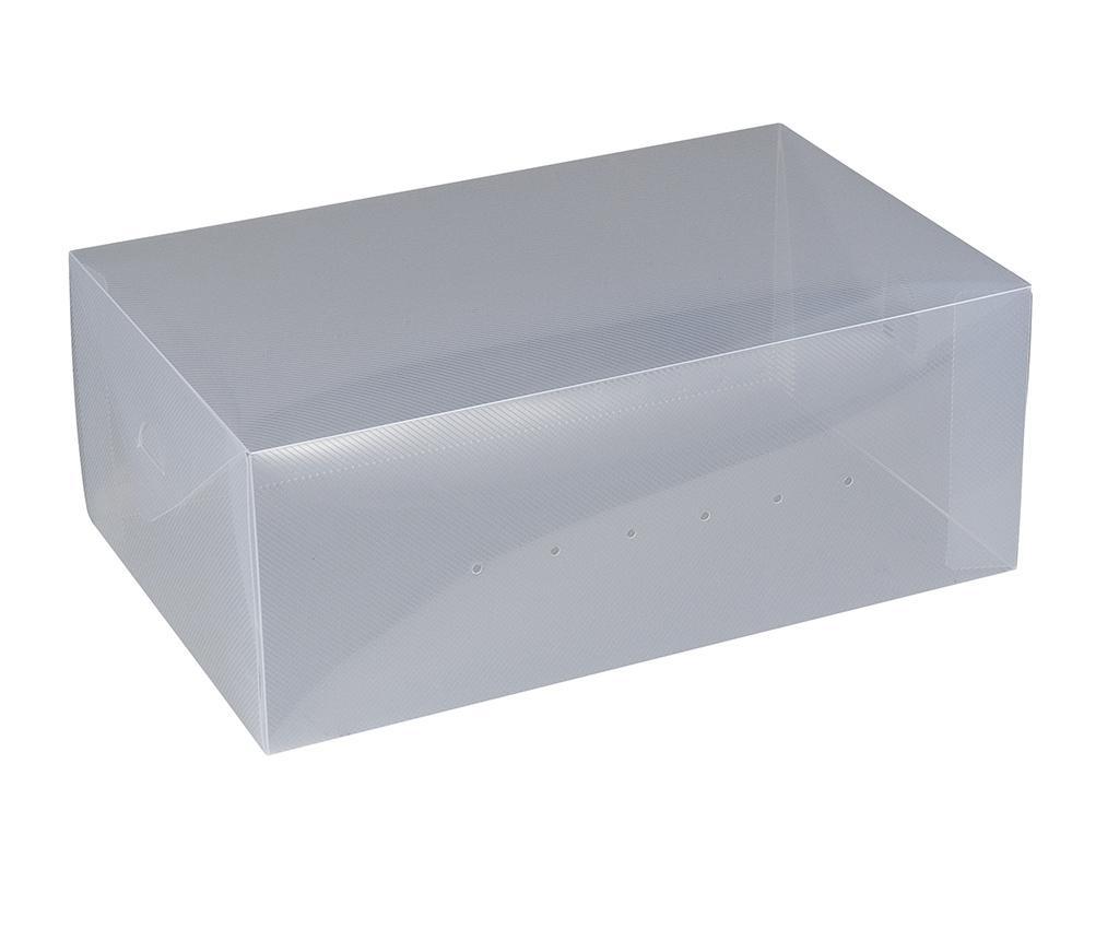 Set 2 cutii pentru depozitare pantofi Ayden