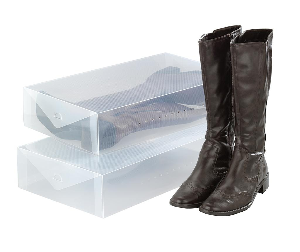 Set 2 kutije za spremanje čizama Ayden