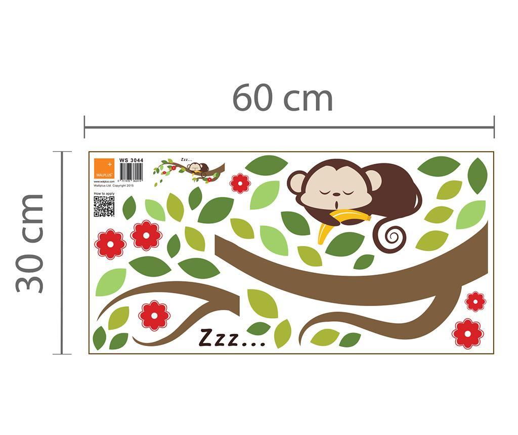 Sleeping Monkey on Branch Matrica