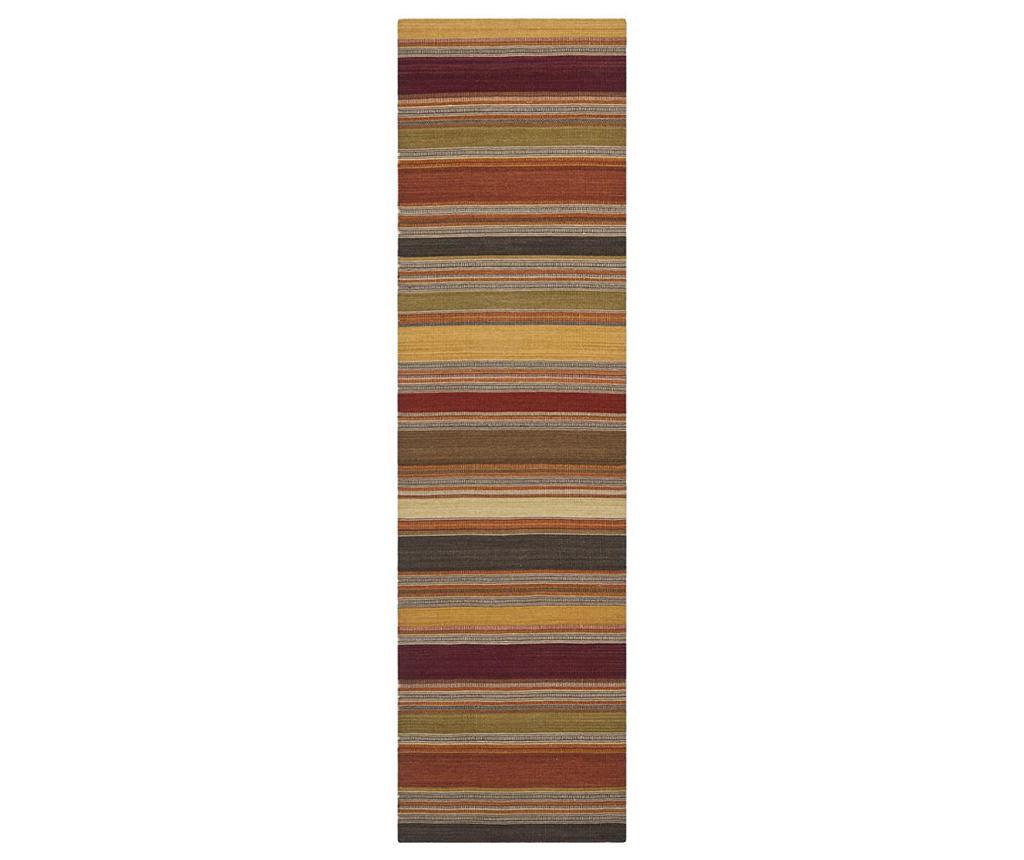 Covor Adelle Striped Gold 76x121 cm