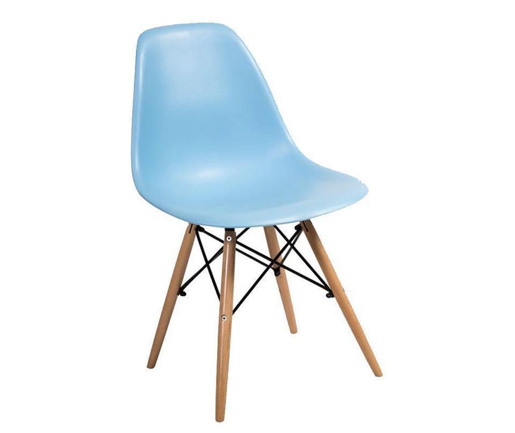Židle Lombardo Me Light Blue