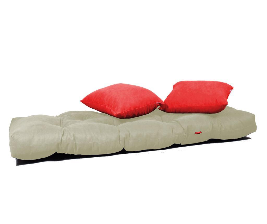 Sofa extensibila Relax Cream Red