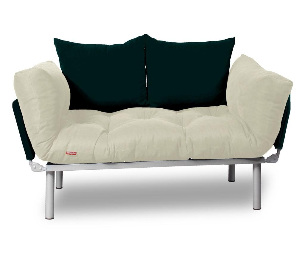 Sofa extensibila Relax Cream Black