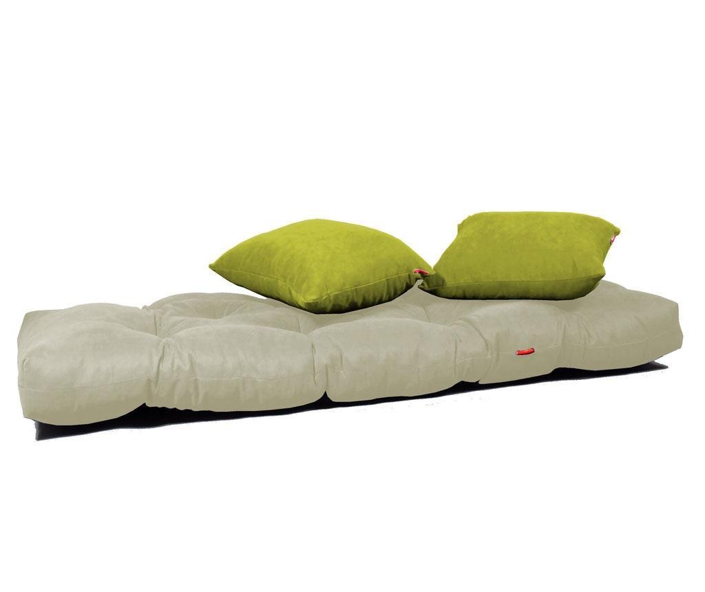 Relax Cream Green Kinyitható szófa