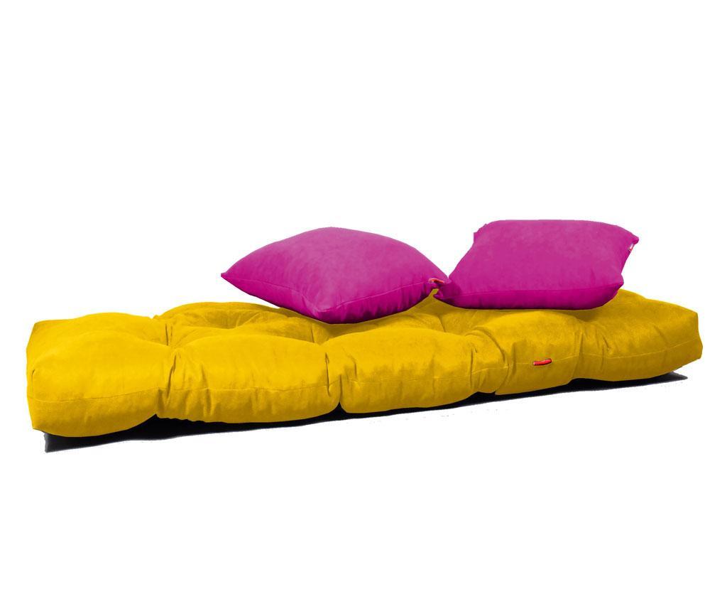 Sofa extensibila Relax Yellow Pink