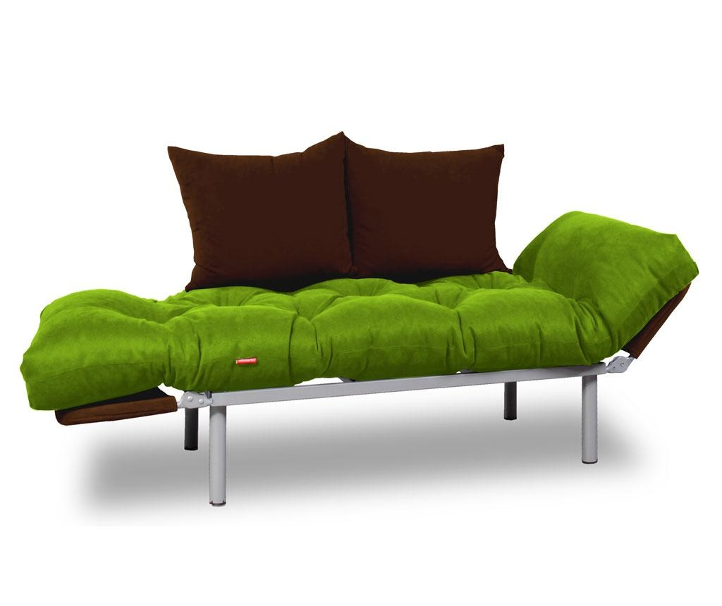 Sofa extensibila Relax Green Brown