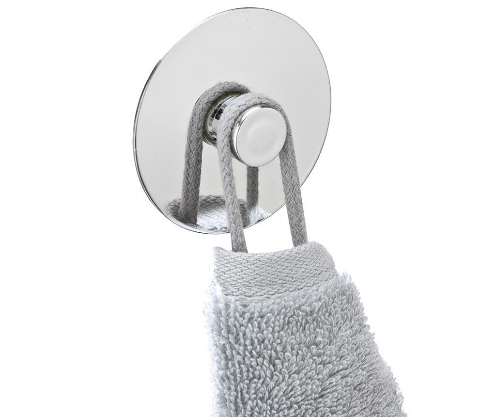 Set 2 držača za ručnike Turbo-Loc Circle